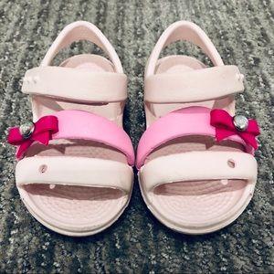 Crocs Sandals size 4c
